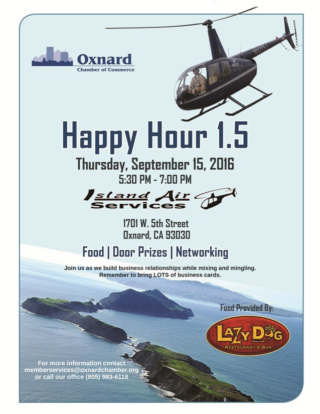 Happy Hour 1 5 Hosted By Island Air Services Lazy Dog Cafe